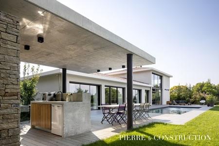 Constructeur de maison contemporaine haut de gamme à Aix en ...